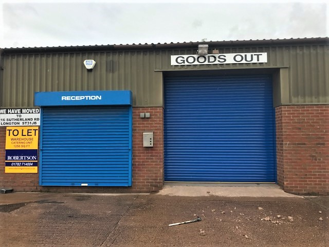 TO LET – Industrial Warehouse Unit