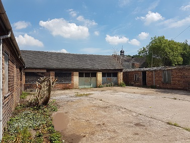 Workshops and Secure Yard – SOLD